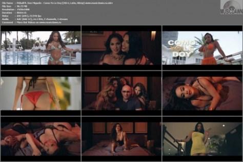 Клип Pitbull ft. Don Miguelo - Como Yo Le Doy [2014, HD 1080p]