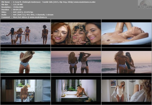 G-Eazy ft. Christoph Andersson – Tumblr Girls (Uncensored) [2015, Hip-Hop, HD 1080p] Music Video