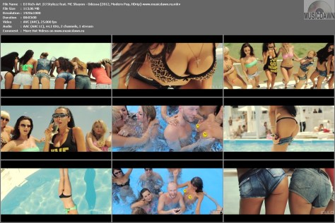 Клип DJ Rich-Art & DJ Stylezz feat. MC Shayon - Odessa [2012, HD 1080p]