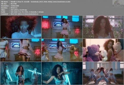 Natalie La Rose ft. Jeremih – Somebody [2015, HD 1080p] Music Video