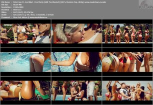 Peter Sax Ft. Joe Blind – Pool Party (Shit I'm Wasted) [2015, HD 1080p] Music Video