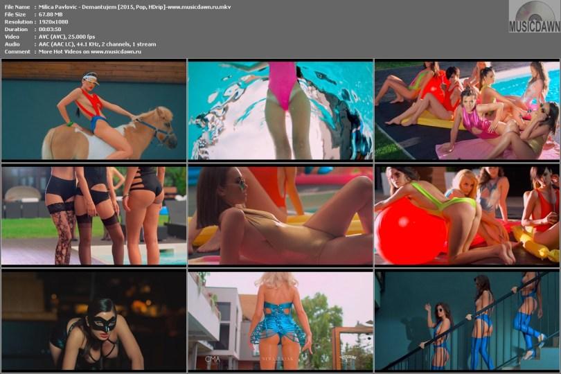 Клип Milica Pavlovic - Demantujem HD 1080p Video