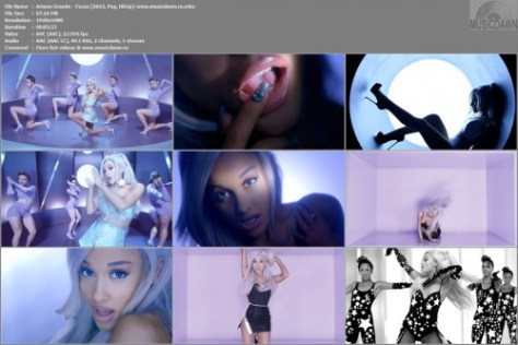 Клип Ariana Grande – Focus [2015, HD 1080p] Music Video