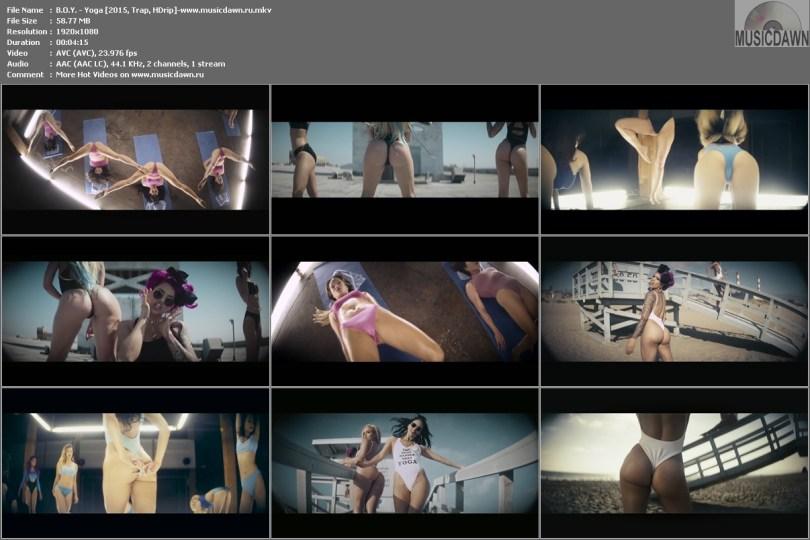 клип B.O.Y. - Yoga HD 1080p