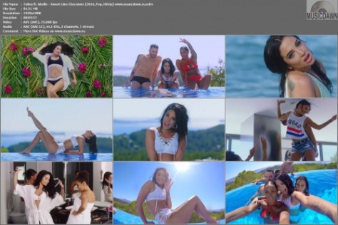 Клип Tulisa ft. Akelle – Sweet Like Chocolate [2016, HD 1080p] Music Video