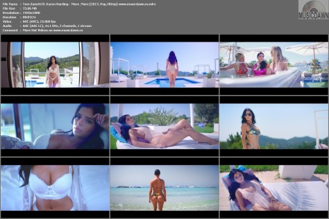Клип Tom Zanetti ft. Karen Harding – More & More [2017, HD 1080p] Music Video