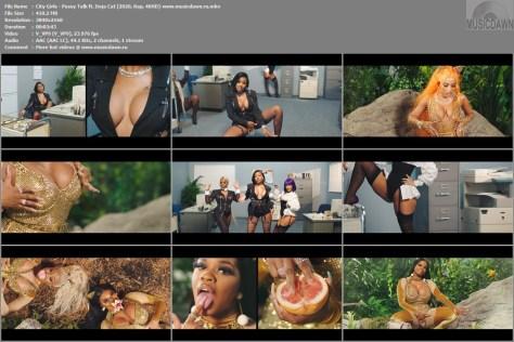 Клип City Girls – Pussy Talk ft. Doja Cat [2020, 4KHD] Music Video