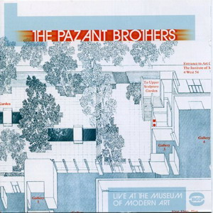 The Pazant Brothers - Live at Museum of Modern Art (Early 70s) Front Cover Art