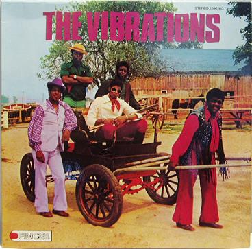 The Vibrations - Taking A New Step / Alternative cover art - 1973 Finger Records Issue