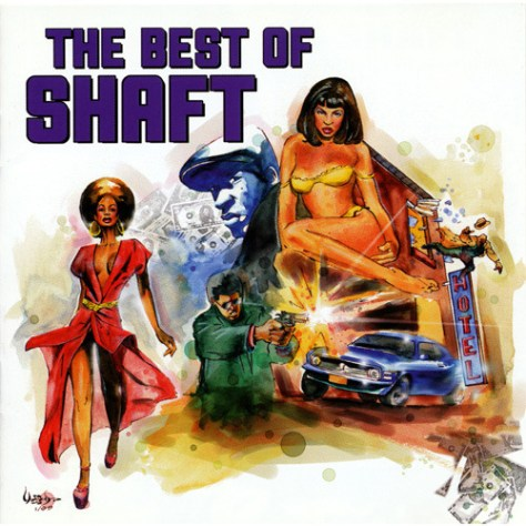VA - The Best of Shaft '1999 Front Cover Art