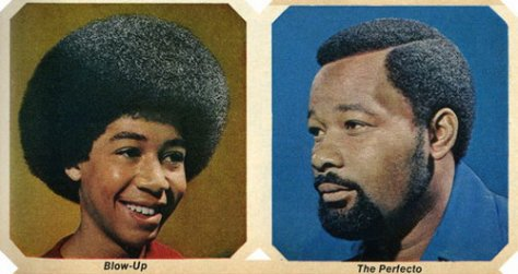 Blow Up & Perfecto Afro Haircuts style