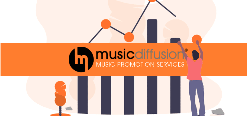 Promote your music on streaming platforms with MusicDiffusion new