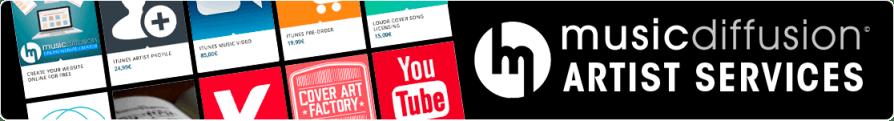 MusicDiffusion Artist Services - Promoción Musical - Distribución De Música - Digital Music Distribution