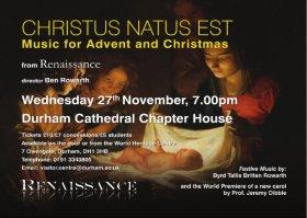 Renaissance – Christus Natus Est