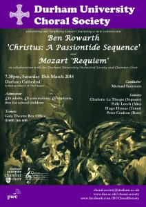 Final Epiphany Concert Poster