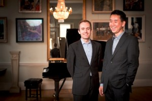 Parnassius piano duo: Simon Callaghan and Hiro Takenouchi