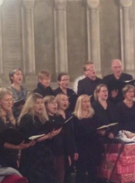 Chor Semiseria visit Durham
