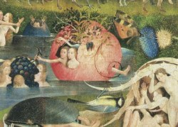 Extract from Bosch Garden of Earthly Delights