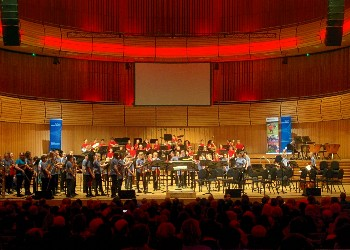 Durham Music Service bands at Sage Gateshead