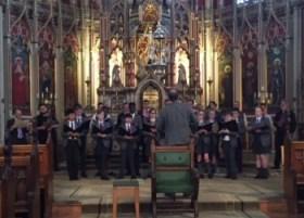 Durham Cathedral choir at Ushaw
