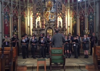 Durham Cathedral choir at Ushaw