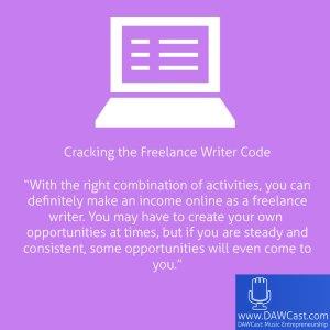 Cracking the Freelance Writer Code