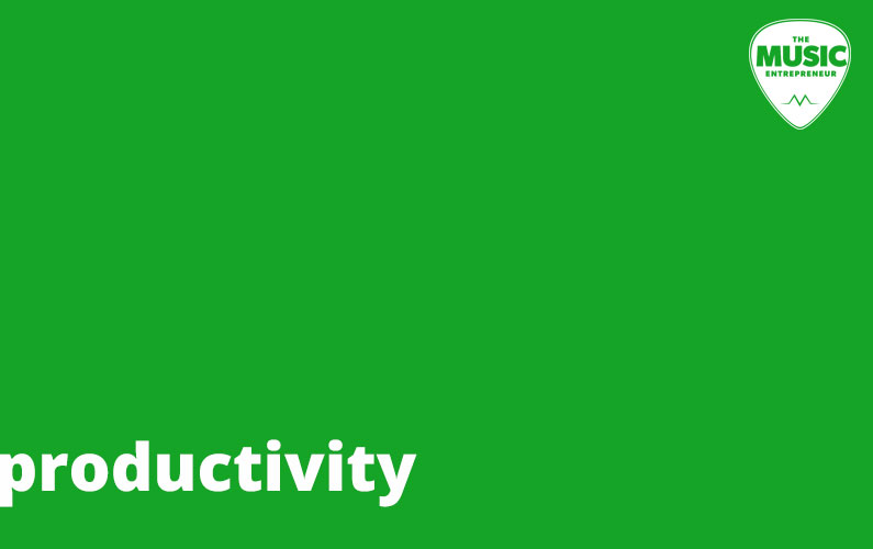 Lessons in Creativity, Part 1: Productivity