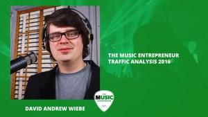 020 – The Music Entrepreneur Traffic Analysis 2016