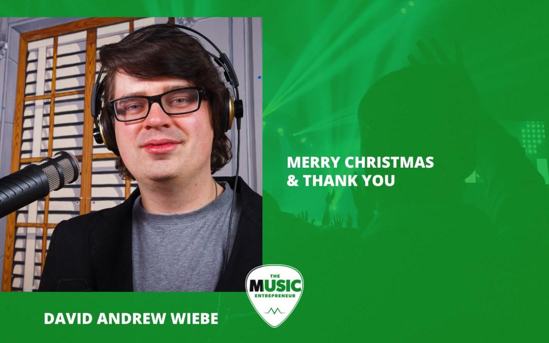 022 – Merry Christmas & Thank You