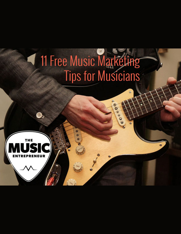 11 Free Music Marketing Tips for Musicians eBook