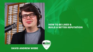 Creating good relationships in the music industry