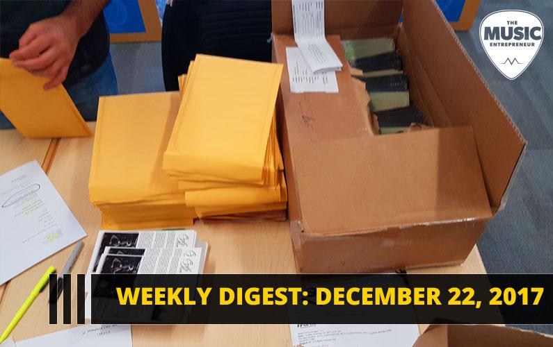Weekly Digest: December 22, 2017