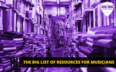 The Big List of Resources for Musicians