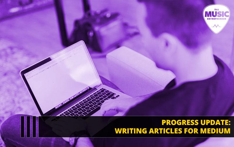 104 – Progress Update: Writing Articles for Medium