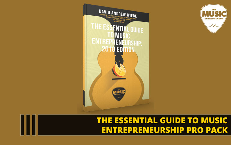 109 – The Essential Guide to Music Entrepreneurship Pro Pack