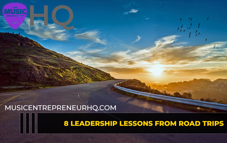 8 Leadership Lessons from Road Trips [INFOGRAPHIC]