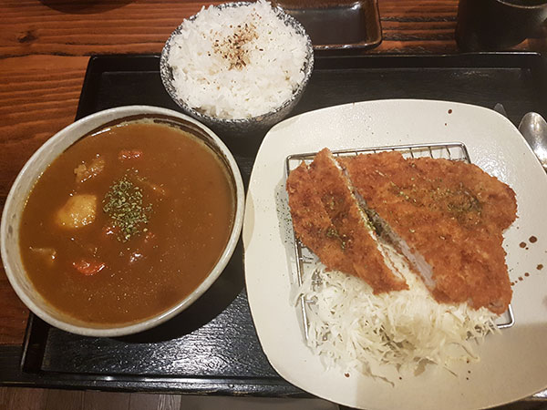 July 2020 Japanese meal