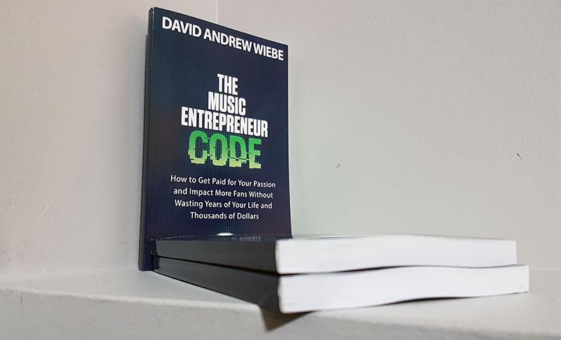 The Music Entrepreneur Code paperback