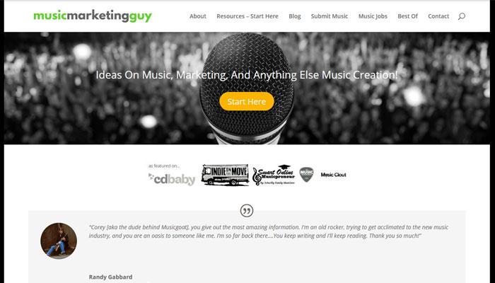 Music Marketing Guy