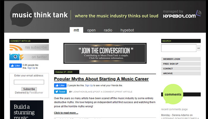 Music Think Tank