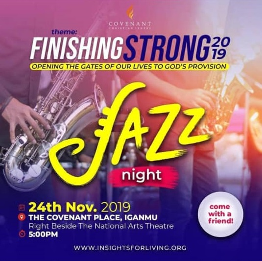 Finishing strong jazz concert