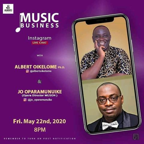 music business with Dr. Albert OIkelome