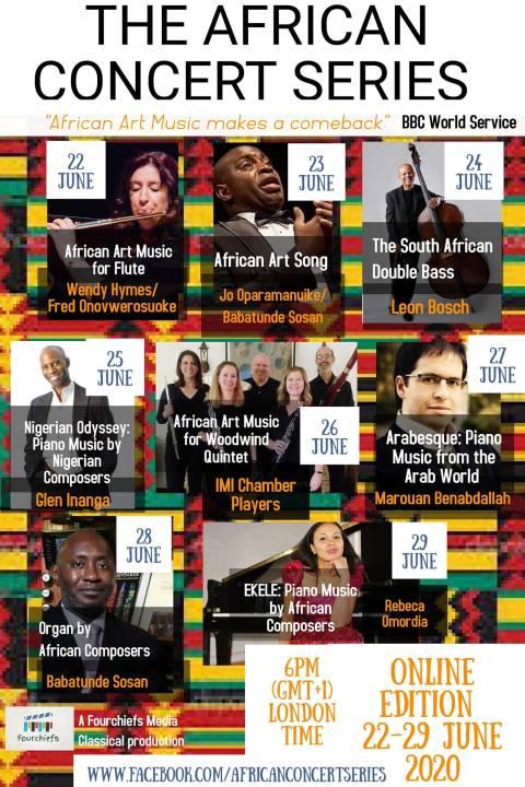 african concert series 2020
