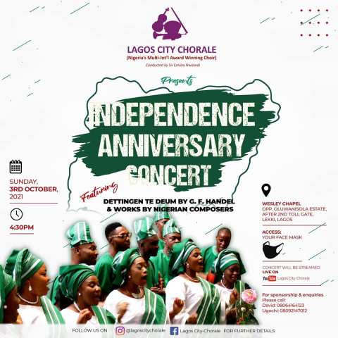 Lagos city chorale independence day concert