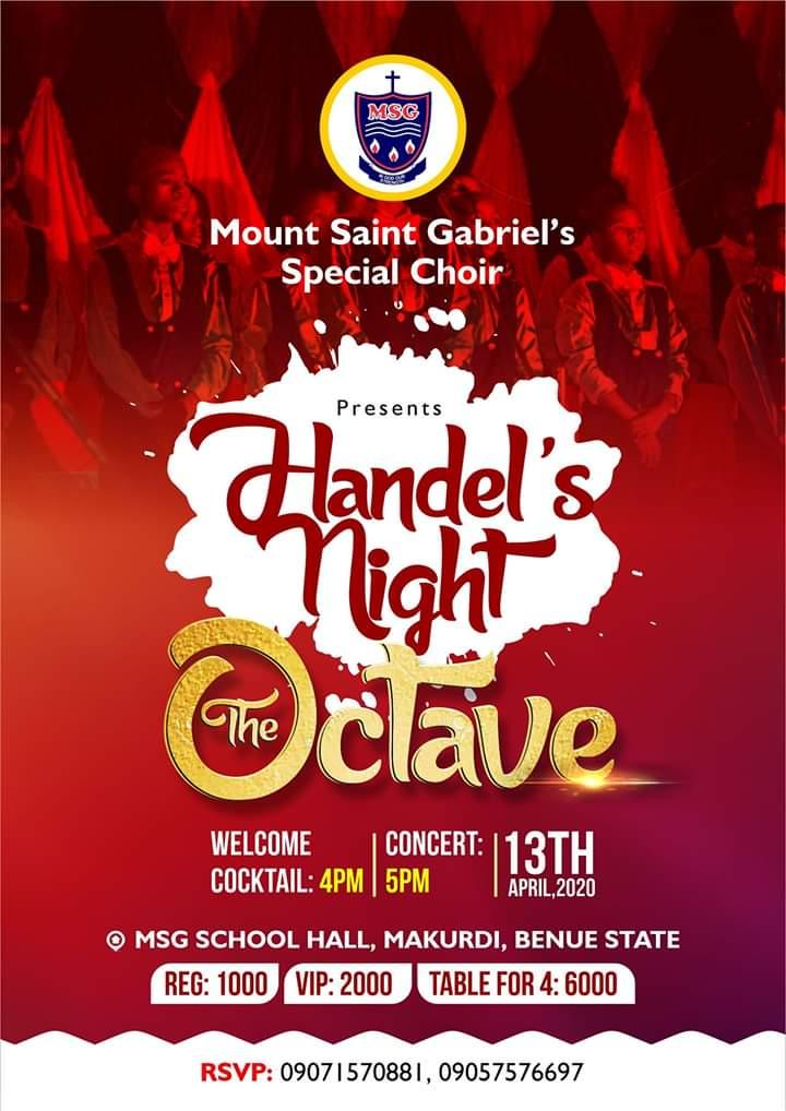 Mount Saint Gabriel's Special Chior