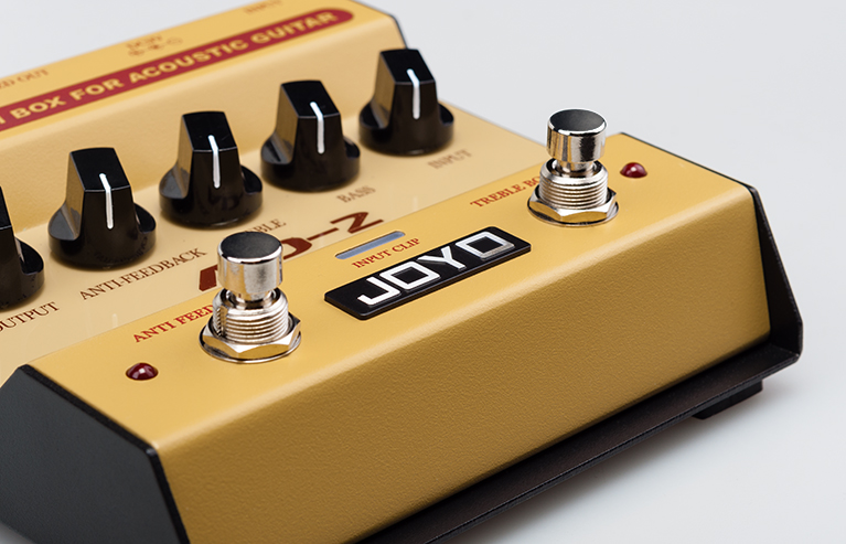 Joyo AD2 Acoustic Guitar DI EQ Pre Amp Box