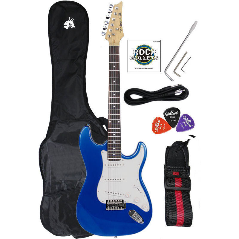 Begginer Strat Package Blue