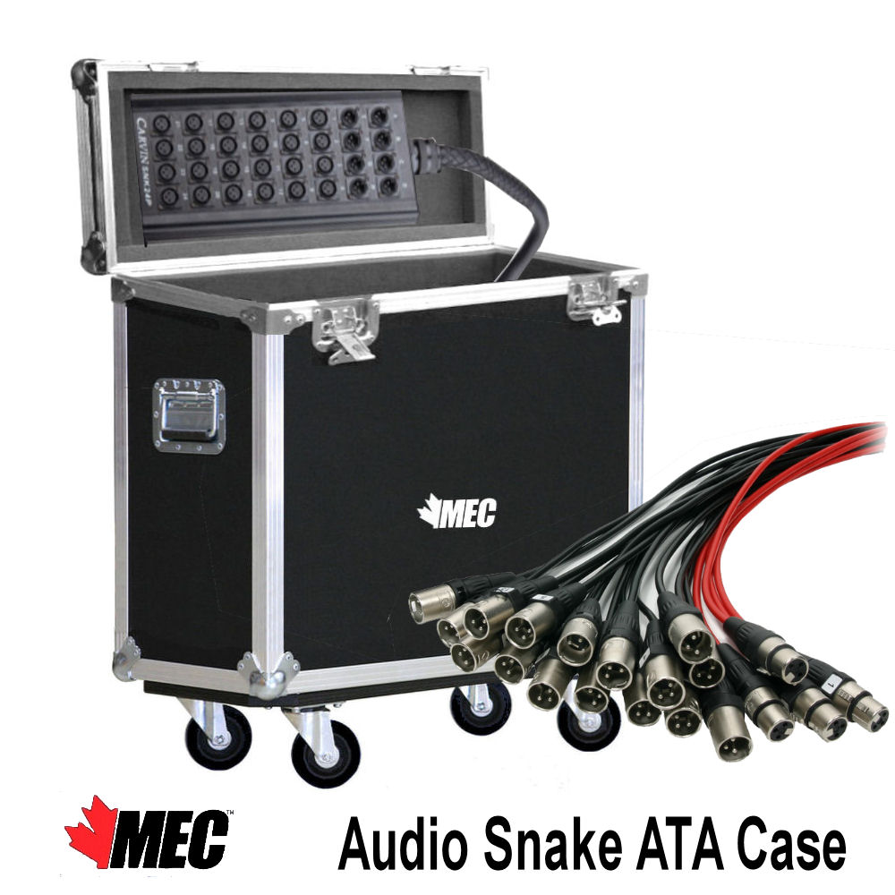 Flight Case for Audio Snake Flip Top