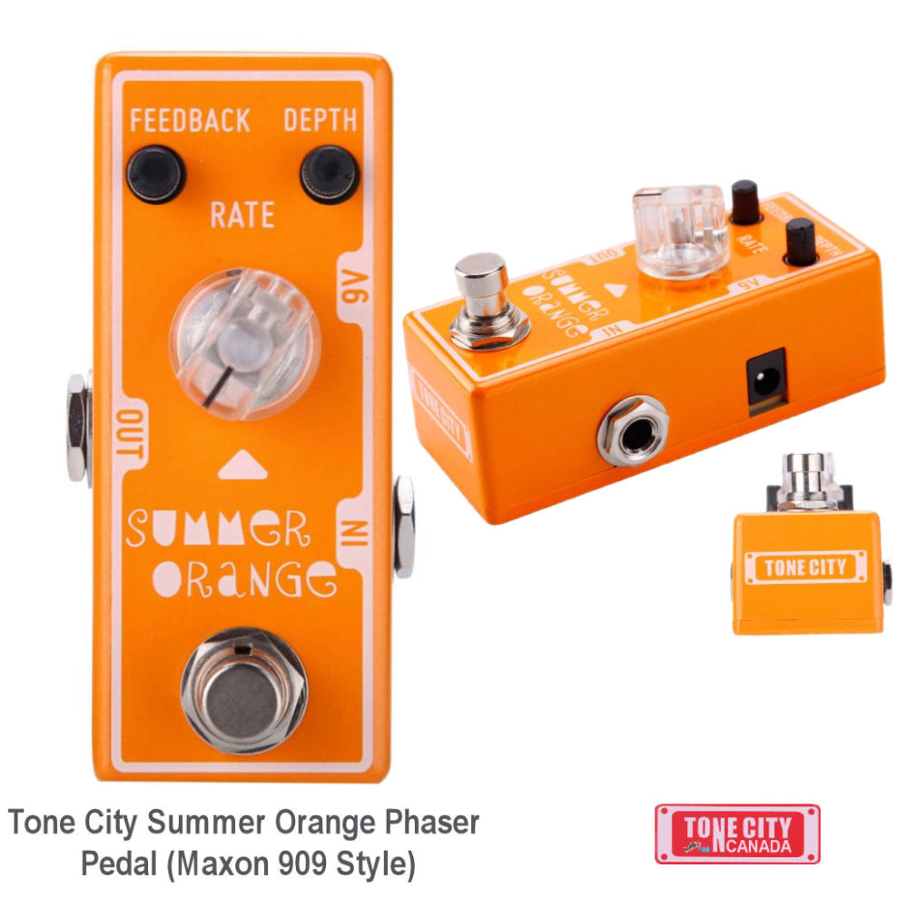 Tone City T12 Summer Orange Phase