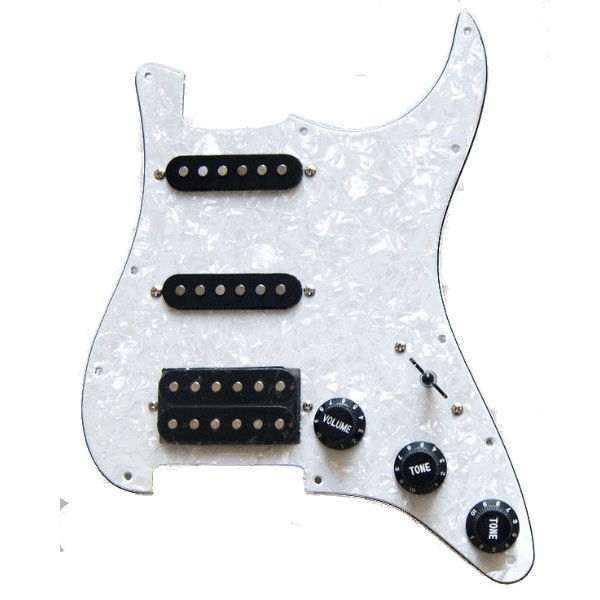 PICK GUARD WITH PICKUPS